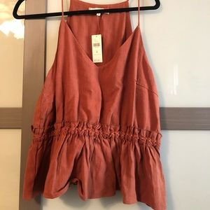 Anthropologie top never worn!